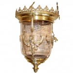 Brass Hanging Hall Lantern