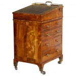 English Early Regency Rosewood Small Davenport Desk, circa 1820