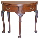 George III English or Irish Small 18th Century Walnut Game Table