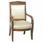 French Neo-Classical Armchair Ca. 1820