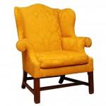 18th Century Philadelphia Mahogany Wing Chair