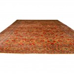 Semi-antique Kirman Carpet