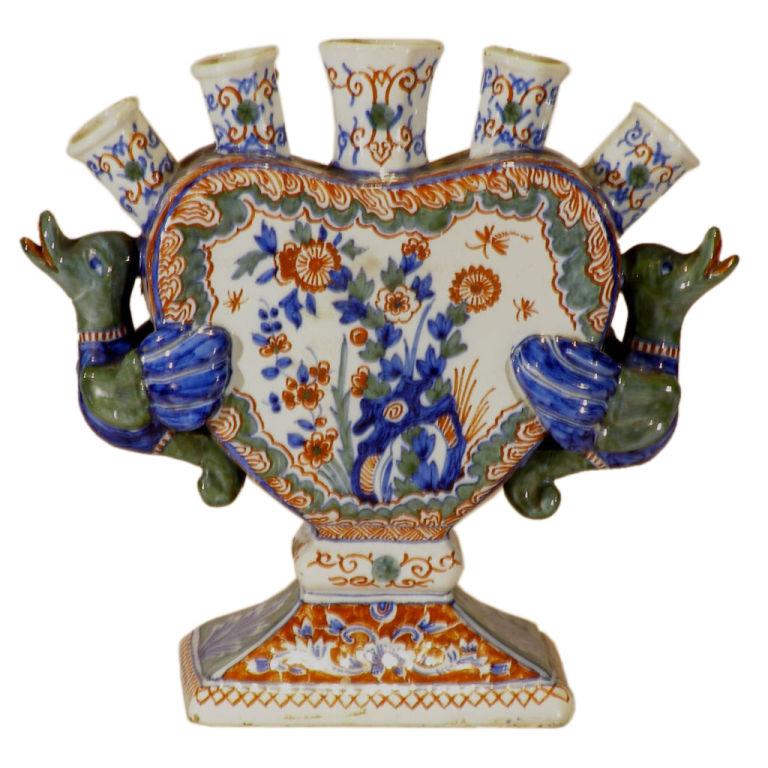 Antique Tulip Vase Vase And Cellar Image Avorcor
