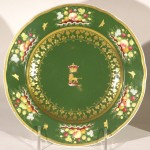 Pr. Derby Porcelain Plates Made For The Earl of Shrewsbury, Ca. 1830