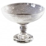Anglo-Irish Cut Crystal Compote