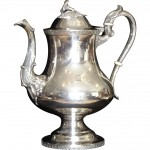 Late Federal Period Silver Tea Pot