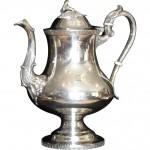 Late Federal Period Silver Tea Pot
