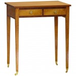 American Federal Period Two Drawer Stand/Sewing Table