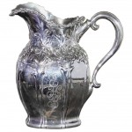 Art Nouveau Sterling Water Pitcher