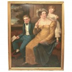 Early 19th Century American or English Family Portrait