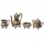 4 Piece American Sterling Tea Set