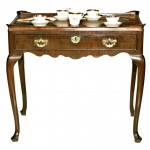18th Century Queen Anne Mahogany Tray Top Tea Table
