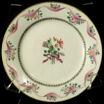 Early Samson Chinese Export Style Miniature Plate, French Ca. 1870