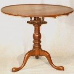 American Cherry Tilt Top Tea Table, Ca. 1770