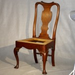 George III Irish or English Mahogany Side Chair Ca. 1750