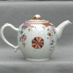 Chinese Export Porcelain Teapot Ca. 1800