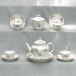 Worcester Porcelain Part Tea Service, Ca. 1785