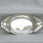 European Silver Bread / Serving Tray