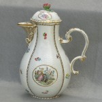 Meissen Type 18th Century European Porcelain Jug / Pot
