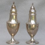 Assembled Pair Of Sterling Silver Casters, Ca. 1790