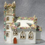 Staffordshire Model of a Gothic Church, ca. 1870