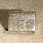 Antique Georgian Sterling Silver Vinaigrette by Joseph Willmore