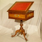 Antique Regency Style One Drawer Writing or Reading Table, 19th Century