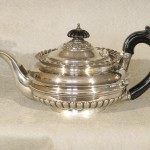 Sterling Silver English Tea Pot by George Burrows, 1819