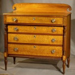 Antique New England Federal Chest of Drawers, Ca. 1825