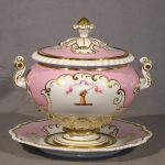English Regency Soup Tureen, Ca. 1840 Probably Worcester