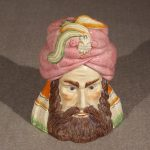 Turk's Head Covered Jar, 19th Century