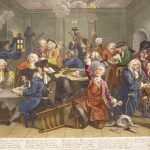 William Hogarth, A Rake's Progress Plate 6, The Gaming House