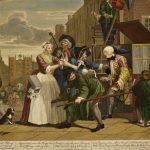 William Hogarth, The Rake's Progress Plate 4, The Arrest