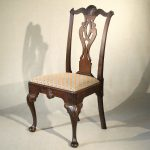 Philadelphia Rococo Shell Carved Side Chair, Ca. 1760