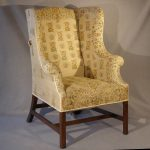 Wing Chair, 18th Century, Mahogany