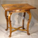 Walnut Marquetry Early Side Table, Ca.1700