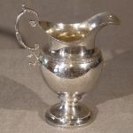 Coin Silver Cream Pitcher by Edw. Lowndes, Philadelphia