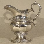 Coin Silver Pitcher by Ball, Tompkins & Black