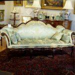 Italian Sofa,18th Century Carved Walnut