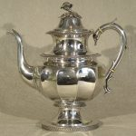 Silver Coffee Pot by Krider, Philadelphia Ca. 1880