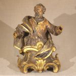Carved Figure of a Saint, European Ca. 1750