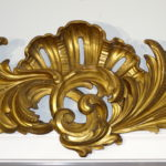 Gilded Pelmets or Cornices, 18th Century  Rococo