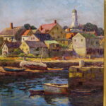 Arthur E. Ward, Rockport Harbor Maine, Ca 1920