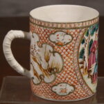 Chinese Export Mug, Ca. 1840