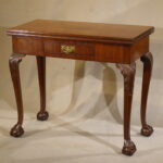 George III Card Table, Ca. 1760