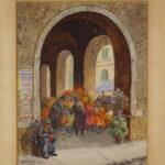 Henry M. Gasser, Italian Flower Market