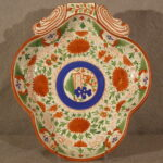 English Creamware Shell Dish, Ca. 1820