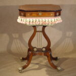 Sewing Table, Regency Period Ca. 1820