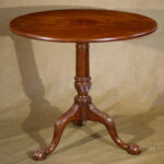 Tea Table, Mahogany,  Ca. 1770